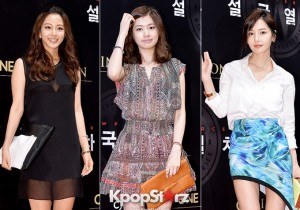 Han Ye Seul-Jun So Min-Nam Gyu Ri Attend 'Snowpiercer' VIP Red Carpet Event in Lovely Dresses