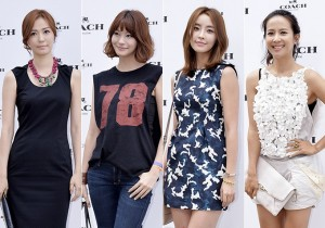 Son Tae Young-Yoo In Young-Jung Yoo Mi-Jo Yeo Jung Dress Up for 'COACH' Launching Event