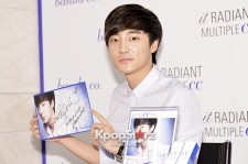 Roy Kim Dresses in Black and White for 'Banila Co' Promotional Fan Sign Event