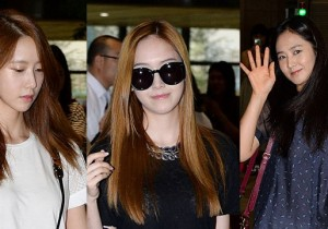 Girls Generation (SNSD) Cute and Casual Leaving for Japan
