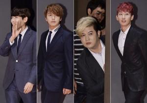 Ryuwook, Sungmin, Shindong, Eunhyuk