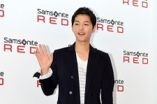 Song Joong Ki's First Public Appearance After Military Enlistment Announcement