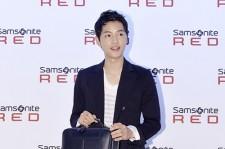 Song Joong Ki Semi-Formal Look at Samsonite RED Launching Event