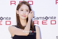 Girls Generation(SNSD) Yoona Flirty Black Dress at Samsonite RED Launching Event