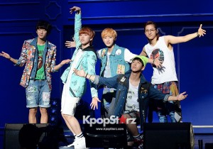 B1A4 Transforms into Toys for '2013 B1A4 LIMITED SHOW AMAZING STORE' Concert