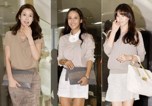 Lee Tae Ran, Jo Yeo Jung, Chae Jung An
