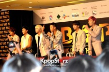B.A.P Receives Overwhelming Responses At Open Press Conference In Singapore, 'We Are Always Striving To Do Our Best'