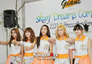 SKarf At Press Conference, Cheerful And Excited For Their First 'Dreams Come True' Singapore Showcase [PHOTOS]