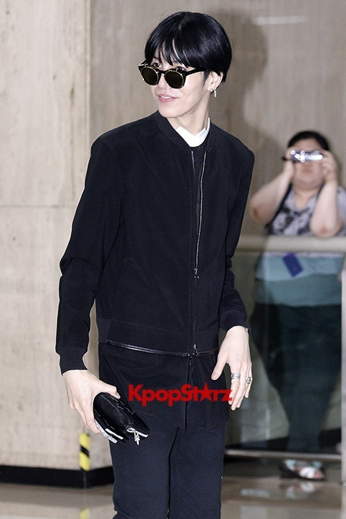 ICON (No Min Woo) All Black Leaving for Japankey=>9 count12