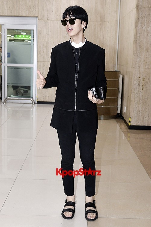 ICON (No Min Woo) All Black Leaving for Japankey=>10 count12