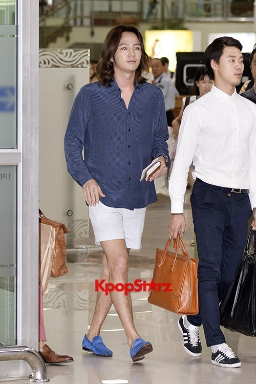 Jang Keun Suk Casual Fashion Leaving for Japankey=>1 count11