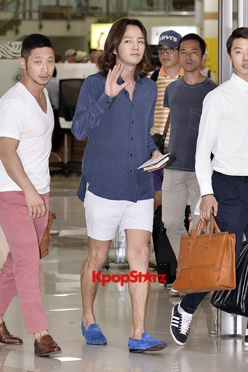 Jang Keun Suk Casual Fashion Leaving for Japankey=>2 count11