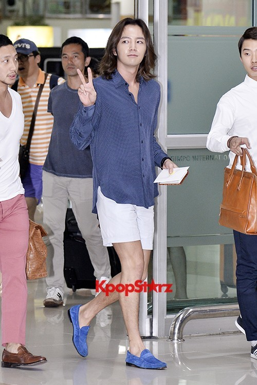 Jang Keun Suk Casual Fashion Leaving for Japankey=>3 count11