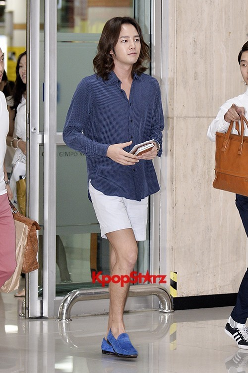 Jang Keun Suk Casual Fashion Leaving for Japankey=>4 count11