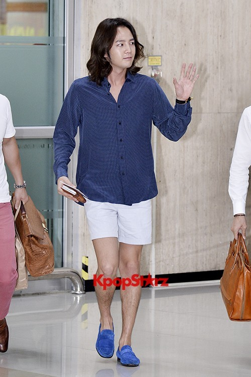 Jang Keun Suk Casual Fashion Leaving for Japankey=>5 count11
