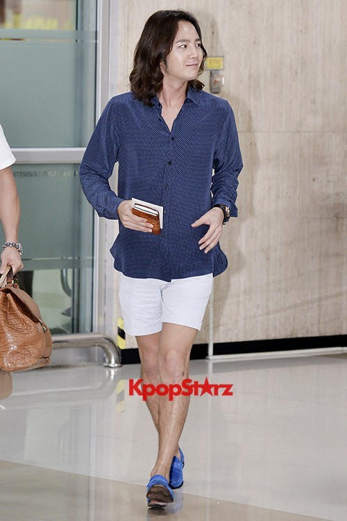 Jang Keun Suk Casual Fashion Leaving for Japankey=>6 count11