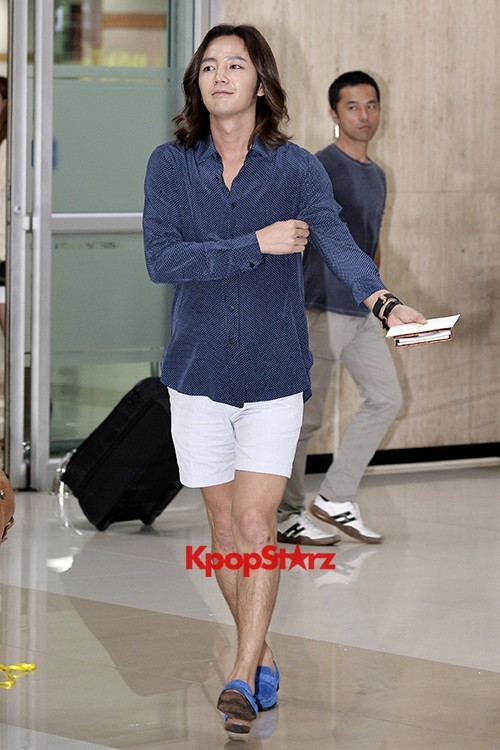 Jang Keun Suk Casual Fashion Leaving for Japankey=>7 count11