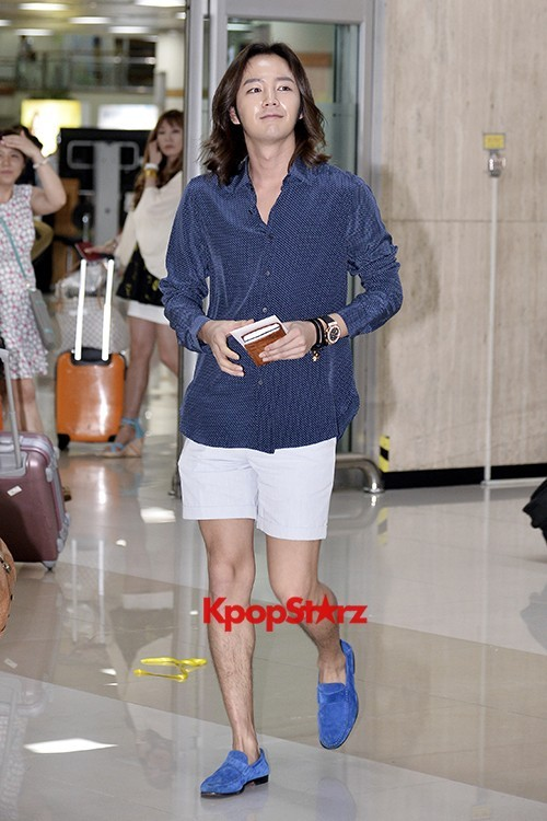Jang Keun Suk Casual Fashion Leaving for Japankey=>8 count11