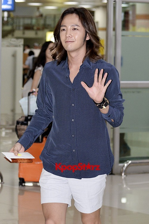 Jang Keun Suk Casual Fashion Leaving for Japankey=>9 count11