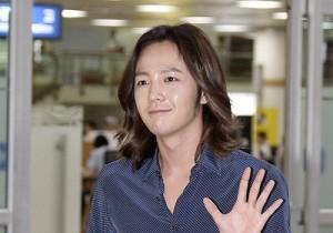 Jang Keun Suk Casual Fashion Leaving for Japan