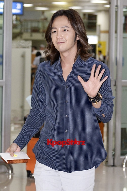 Jang Keun Suk Casual Fashion Leaving for Japankey=>0 count11