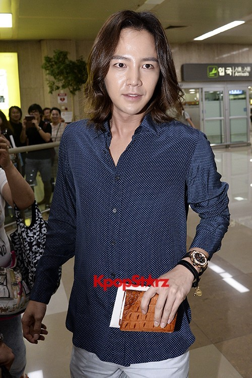 Jang Keun Suk Casual Fashion Leaving for Japankey=>10 count11