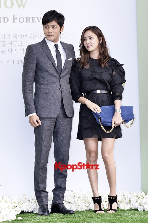 Jang Dong Gun-Ko So Young in Black and Gray for Lee Byung Hun-Lee Min Jung Weddingkey=>4 count8