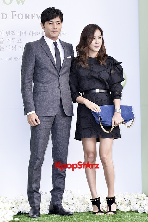 Jang Dong Gun-Ko So Young in Black and Gray for Lee Byung Hun-Lee Min Jung Weddingkey=>5 count8