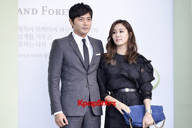 Jang Dong Gun-Ko So Young in Black and Gray for Lee Byung Hun-Lee Min Jung Weddingkey=>7 count8