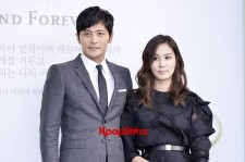 Jang Dong Gun-Ko So Young in Black and Gray for Lee Byung Hun-Lee Min Jung Wedding