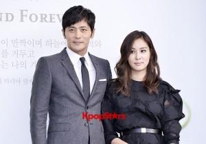 Jang Dong Gun-Ko So Young in Black and Gray for Lee Byung Hun-Lee Min Jung Wedding