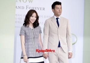 Yoo Ji Tae-Kim Hyo Jin Semi-Formal Attire for Lee Byung Hun-Lee Min Jung Wedding