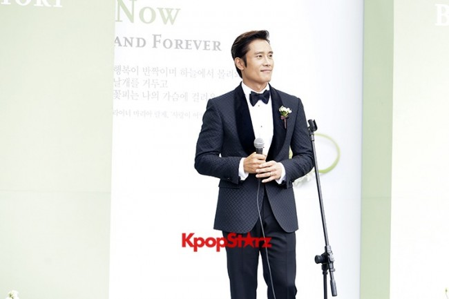 Lee Byung Hun in Crisp Black Suit for Wedding Daykey=>2 count6