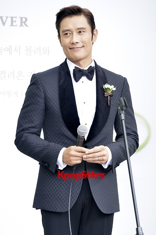 Lee Byung Hun in Crisp Black Suit for Wedding Daykey=>3 count6