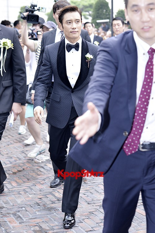 Lee Byung Hun in Crisp Black Suit for Wedding Daykey=>5 count6
