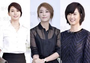 Park Shi Eun, Jung Yoo Mi, Go Ah Ra