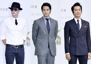 So Ji Sub, Kim Bum, Song Seung Hun