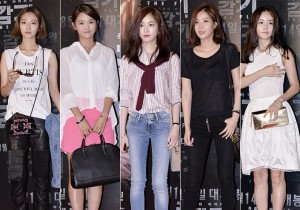 Female Cast of Movie 'The Flu' Flaunt their Fashion Sense at VIP Red Carpet Event  - Aug 7, 2013