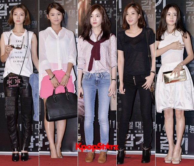 Female Cast of Movie 'The Flu' Flaunt their Fashion Sense at VIP Red Carpet Event  - Aug 7, 2013key=>0 count28