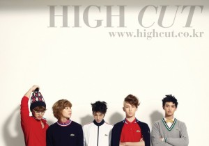 SHINee 'High Cut' Fashion Magazine shoot