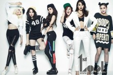 Lee Hyori & SPICA's Fierce Photo Shoot