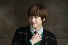Kyuhyun of the 12-member K-pop boy band Super Junior (pictured) and Kim Yeon Ji of the South Korean girl group SeeYa, who disbanded in 2011, will both be receiving degrees from Kyung Hee University's Department of Post Modern Music.