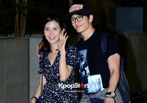 Lee Bo Young and Ji Sung