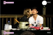 go joon hee jung jinwoon cheek kiss