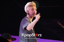 SM Solo Artist Henry Energetic Performance at KCON 2013 - Side View [PHOTOS]
