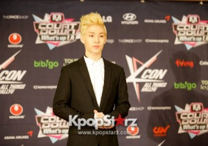 Henry Speaks to the Media Prior to M! Countdown What's Up LA