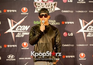KCON 2013 DJ Koo Waves Hi Before Spinning Tracks at M! Countdown What's Up LA Press Conference [PHOTOS]