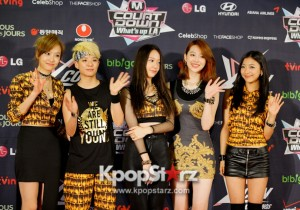 KCON 2013 f(x) Glamorous and Fab As Usual at M! Countdown What's Up LA Press Conference - Aug 25, 2013 [PHOTOS]