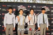 KCON 2013 2AM Draws Attention of the Media at M! Countdown What's Up LA Press Conference - Aug 25, 2013 [PHOTOS]