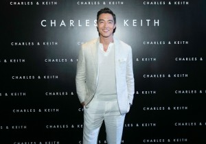 Daniel Henney at Charles & Keith Event in Singapore
